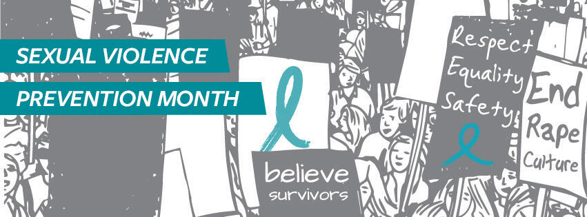 Sexual Violence Prevention Month banner