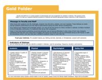Gold Folder